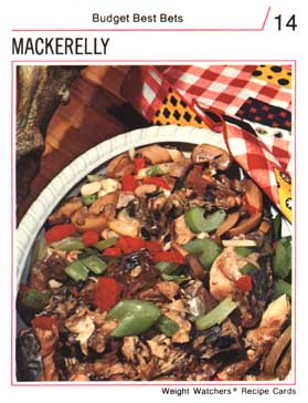 'mackerelly' recipe card